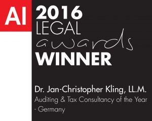 Auditing & Tax Consultancy of the year-Legal Awards 2016 (FD1600