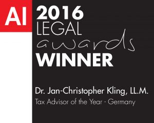 JC Kling-Legal Awards 2016 (FD160043) winners logo