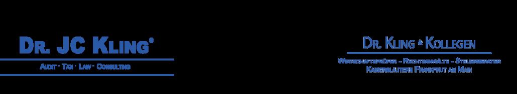 Kanzlei Dr. Kling und Kollegen Logo